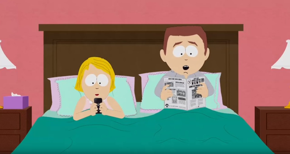 the propaganda behind south park essay Propaganda in entertainment however the propaganda in south park mainly allows us to laugh at all the message behind it is that people care about saving the.
